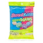 Sweetarts Chewy Sours Peg Bag - 12ct
