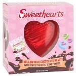 Sweethearts Filled Chocolate Heart - 12ct