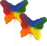 Teeny Butterfly Pops - 48ct