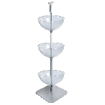 3 Tiered Bowl Floor Display - 16