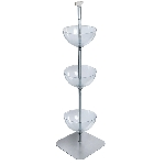 3 Tiered Floor Bowl Display - 14
