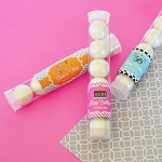 Birthday Candy Tubes - Personalized - 24ct
