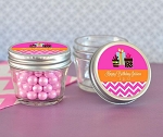 Birthday Personalized Small Glass Mason Jars - 24ct