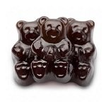 Black Cherry Gummi Bears - 5lbs