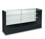 Black Full Vision Display Case - 60 Inch