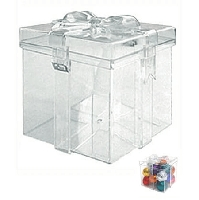 Clear Gift Box - 12ct