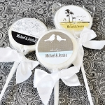 Elegant Design Wedding Lollipops - 24ct