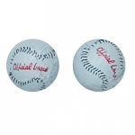 Foil Wrapped Chocolate Baseballs - 5lbs