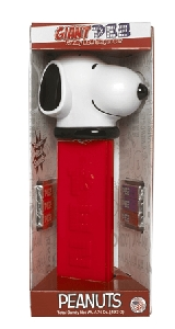 Giant Snoopy Pez Dispenser - 4ct