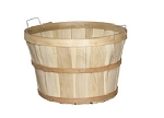 1/2 Peck Baskets w/ Handles - Color Choice - 12ct