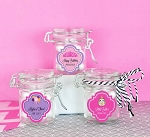 Kids Birthday Mini Glass Jars w/Lids - 24ct