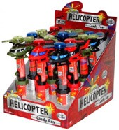 Light Up Helicopter Cool Pop  - 12ct