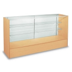 Maple Full Vision Display Case - 60 Inch