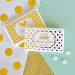Metallic Foil Baby Mini Mints - 24ct