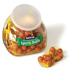 Milk Chocolate Basketballs - Mesh Bags - 30ct