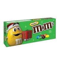 M&M Peanut Holiday Box - 12ct