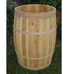 Natural Cedar Whole Barrel - 18