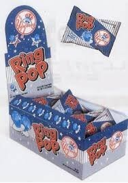 NY Yankees Ring Pops - 24ct