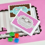 Personalized Baby Gum Boxes - 24ct