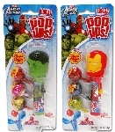 Pop Ups Avengers Lollipops Pack - 6ct