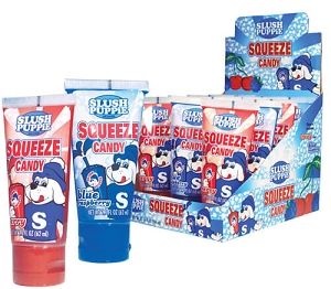 Slush Puppie Squeeze Candy  - 12ct