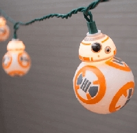 Star Wars BB-8 Droid String Lights 11.5ft