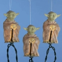 Star Wars Master Yoda String Lights 11ft