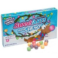 Sweetart Mini Christmas Chewy Candy - 12ct