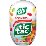 Tic Tac Giant Fruit Adventure Bottle 3.4oz - 4ct