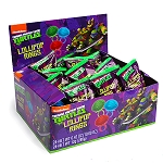 TMNT Lollipop Rings - 24ct