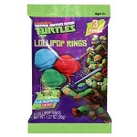 TMNT Lollipop Rings - 3pk  - 12ct