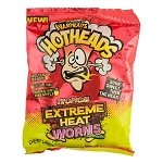 Tropical Extreme Heat Mini Gummy Worms Bag - 12ct