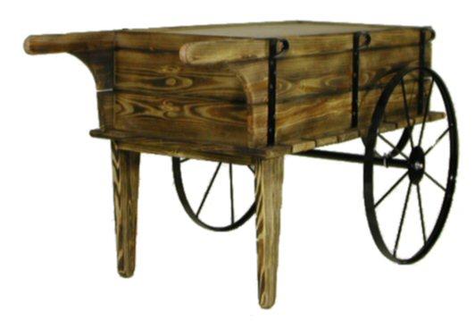 Flower cart wood flower cart planter cart