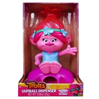 Trolls Gumball Poppy Dispenser - 6ct