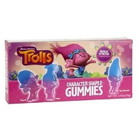 Trolls Gummy Theater Box - 12ct
