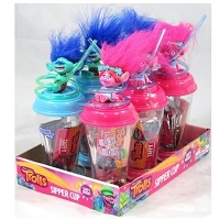 Trolls Sipper Cup With Taffy - 6ct