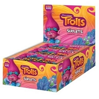 Trolls Sixlets King Size - 16ct