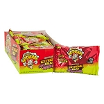Tropical Extreme Heat Mini Gummy Worms - 12ct