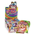 Twisted Lip Pops - Assorted Flavors  - 12ct