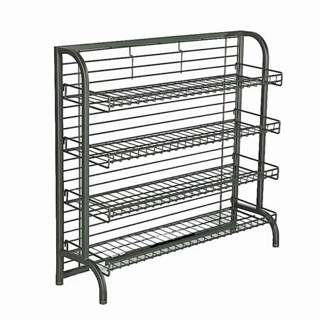 Photo Wire Display under counter display rack | c-store display | wire display fixture