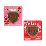 Valentine Card With Chocolate Maze - 18ct