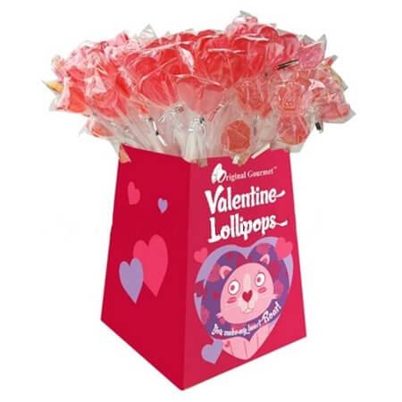 valentine cutie pops seasonal lollipops valentines pops - Valentine Lollipops