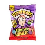 Warheads Sour Chewy Cubes Peg Bag - 12ct