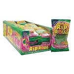 Watermelon Sour Rip Rolls - 24ct