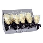 White Chocolate Skull Pops - 20ct