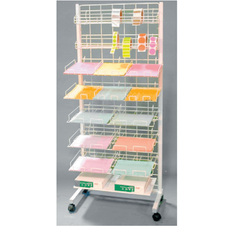 White Mobile Scrapbook Center / Shelves