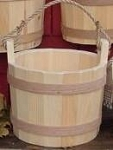 Whole Bucket Pine Displays - Color Option - 3ct