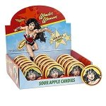Wonder Woman Sour Apple Tins - 18ct