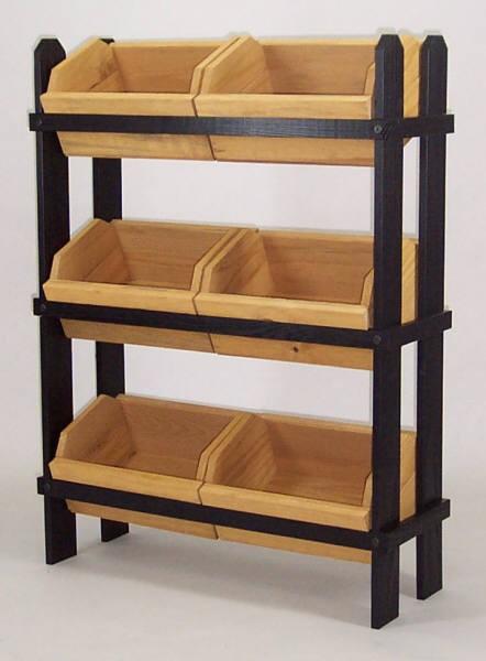 Wooden Crate Display W 6 Crates Crate Fixtures Wood