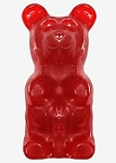 World's Largest Gummy Bear Cherry - 5lbs